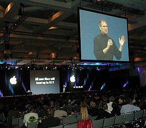 Steve Jobs: Mac OS X on every shipped Mac